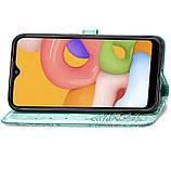 Кожаный чехол (книжка) Art Case с визитницей для Samsung Galaxy A01, фото 5