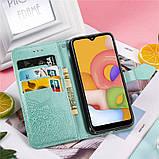 Кожаный чехол (книжка) Art Case с визитницей для Samsung Galaxy A01, фото 6