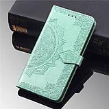 Кожаный чехол (книжка) Art Case с визитницей для Samsung Galaxy A01, фото 7