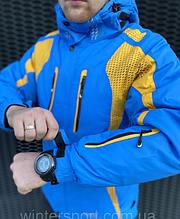ТОП КАЧЕСТВО! Мужская горнолыжная и для сноуборда Куртка Snow Headquarter Синий