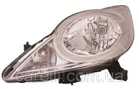 Фара левая электро Н4 для PEUGEOT 107 2012-14
