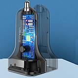 АЗУ Usams C13 2.1A Dual USB + U35 3IN1 Charging Cable (1m), фото 4