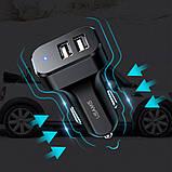АЗУ Usams C13 2.1A Dual USB + U35 3IN1 Charging Cable (1m), фото 5