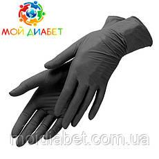 Медицинские нитриловые перчатки Vietglove(пара). Размер -М.