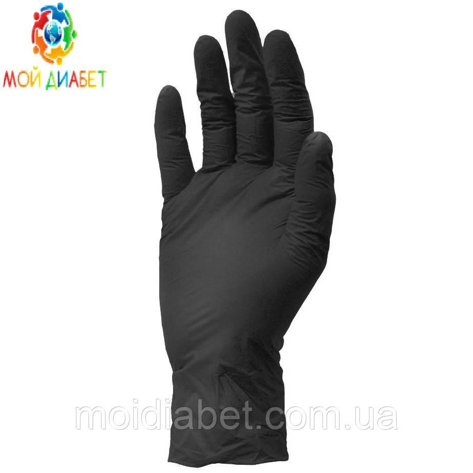 Медицинские нитриловые перчатки Vietglove. Размер-М 1 шт.