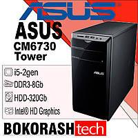 Системний блок Asus CM6730 / Tower-1155 / Intel core I5-2gen / DDR3-4GB / HDD-320GB (к.00100601-1), фото 1