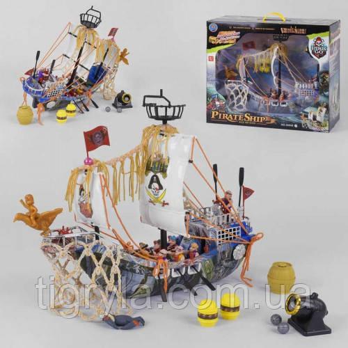 Пиратский корабль. Игровой набор пиратов корабль