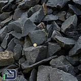 Камінь для саун та бань базальт чорний, фото 2