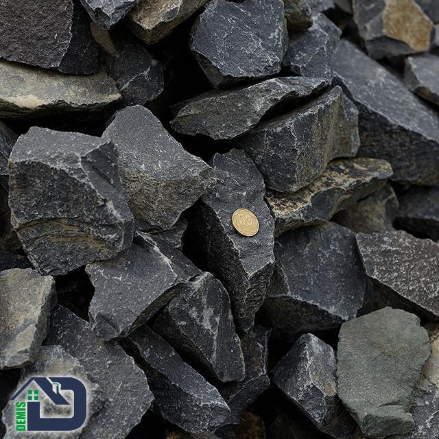 Камінь для саун та бань базальт чорний