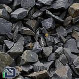 Камінь для саун та бань базальт чорний, фото 3