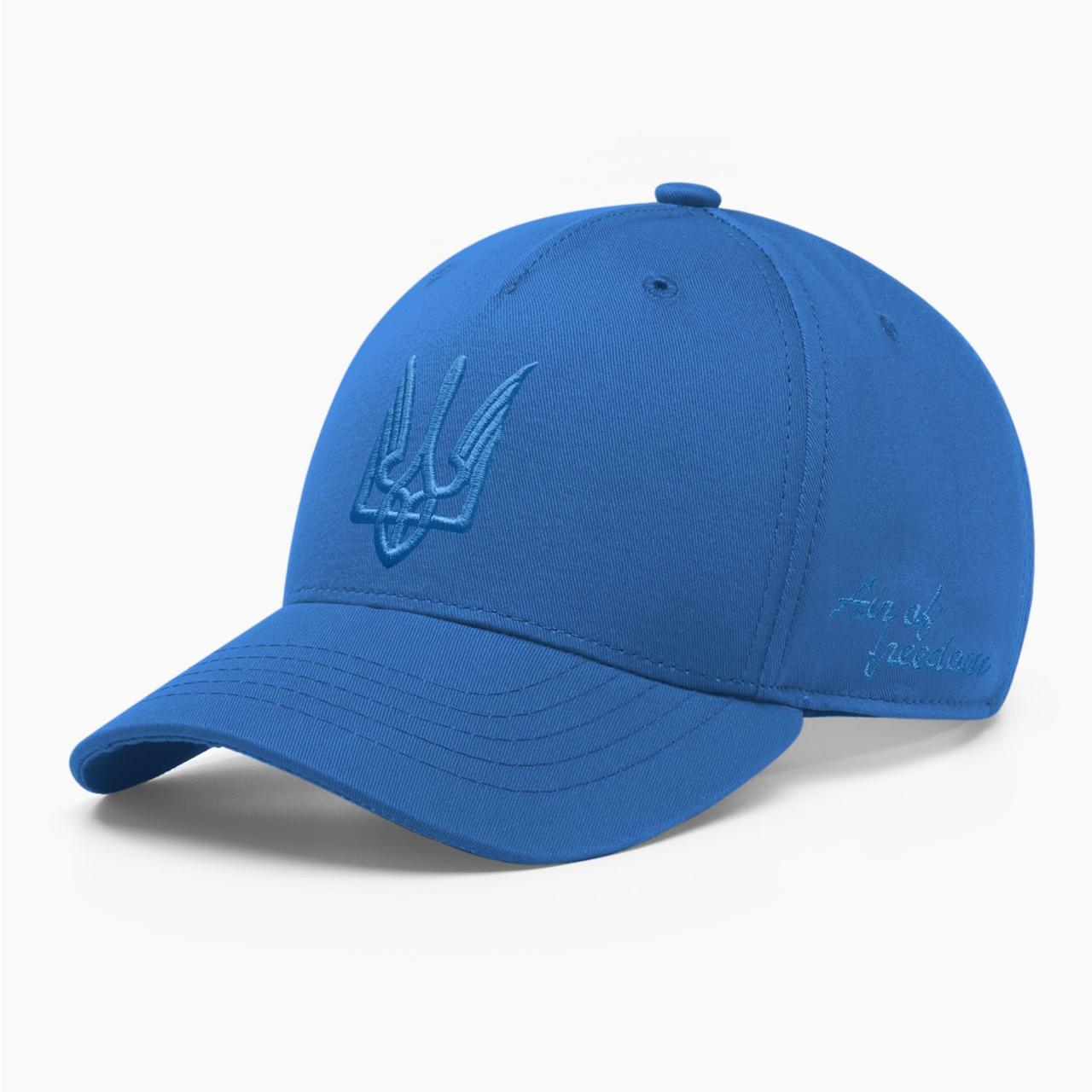 Детская кепка бейсболка INAL с тризубом стилизованным XS / 51-52 RU Синий 243251