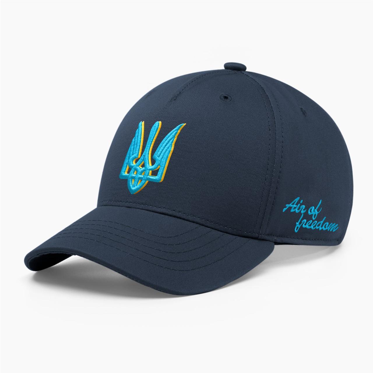 Детская кепка бейсболка INAL с тризубом стилизованным XS / 51-52 RU Синий 244151