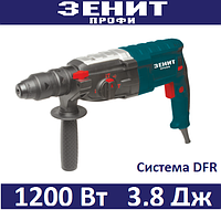 Перфоратор Зенит ЗПП-1200/2 DFR Профи