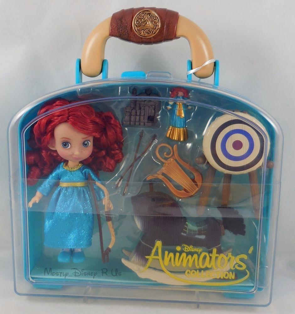 Disney Animators' Collection Merida Mini Doll Play Set - 5'' New. Набор игрушек Дисней Мерида
