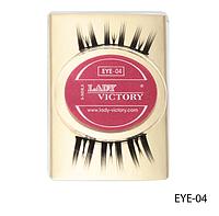 Профессиональные накладные ресницы на половину века Lady Victory LDV EYE-04 /0-1