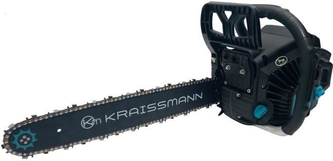 Бензопила Kraissmann KS 52 CC (1 шина, 1цепь бренда E&S супер зуб, перчатки, очки)
