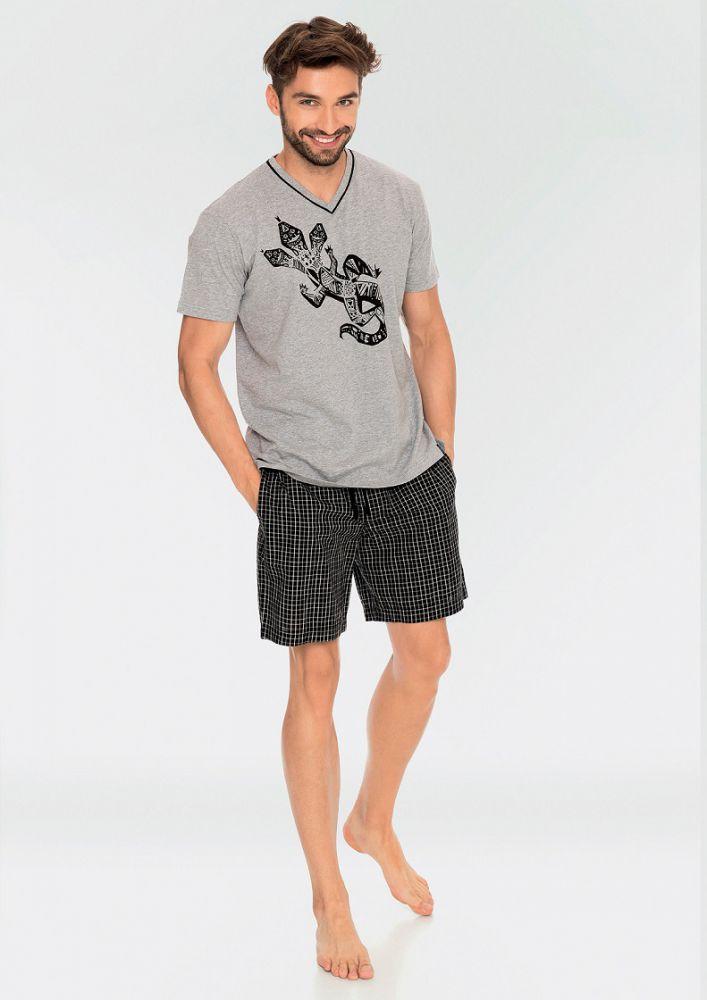 Чоловіча піжама з шортами Key MNS 743