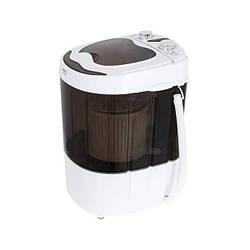 Міні пральна машинка Camry CR 8054, туристична, біла з чорним