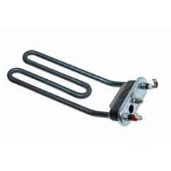 ТЭН 1800W для стиральной машины Indesit - Ariston (с отверстием под датчик, гнутый) C00088218