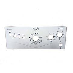 Передняя пластиковая панель для стиральной машины Whirlpool 481245215416
