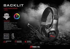 Ігрові навушники з мікрофоном A1 LED