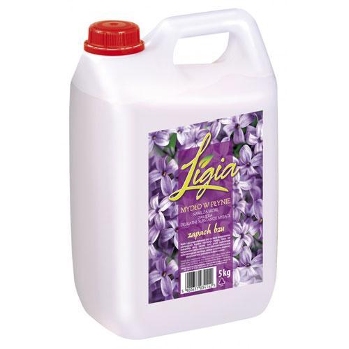 Рідке мило для рук Ligia з ароматом бузку 5 л