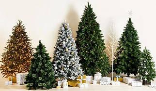 Искусственные новогодние деревья