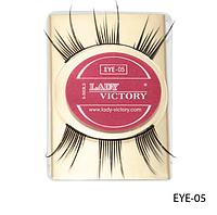 Профессиональные накладные ресницы на половину века Lady Victory LDV EYE-05 /0-1