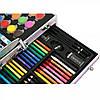Набор для рисования детский 123 предмета Kids Art Set / Набор для творчества художника в чемодане, фото 5