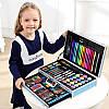 Набор для рисования детский 123 предмета Kids Art Set / Набор для творчества художника в чемодане, фото 7