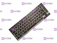 Клавиатура для ноутбука Toshiba Satellite U800, U835, U840, U900, U920, Z380 rus, black
