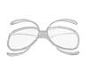 Диоптрическая вставка в лижну маску ( для коригувальних лінз замість окулярів для зору)