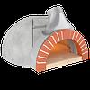 Печь для пиццы на дровах - GR100. 4 пиццы. Valoriani Италия