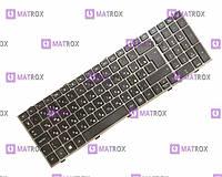 Оригинальная клавиатура для ноутбука HP ProBook 4540s, 4545s rus, black, с серебристой рамкой
