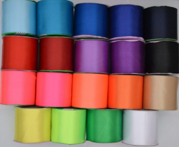 Атласная лента МИКС цветов для связывания