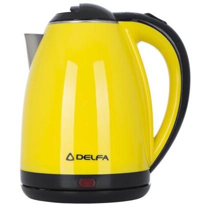 Електричний чайник Delfa DK-3510 X Жовтий