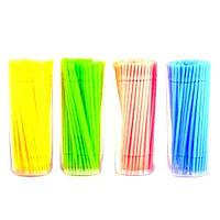 Палочки для снятия наращенных ресниц (микробраши, 100 шт.)