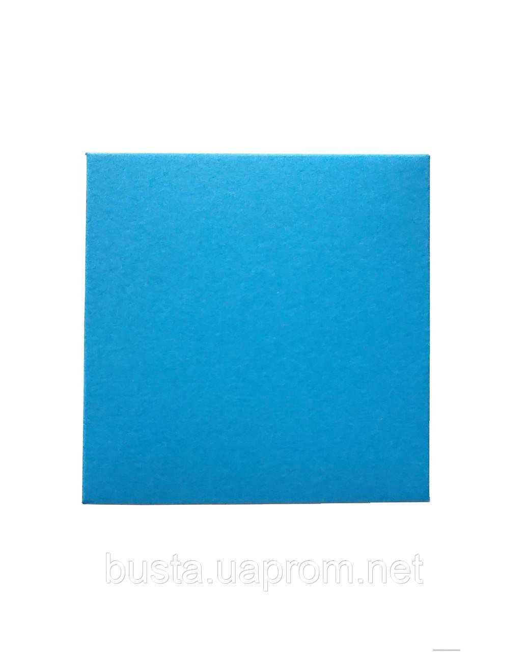 Конверт ярко голубой 100х100 270гр