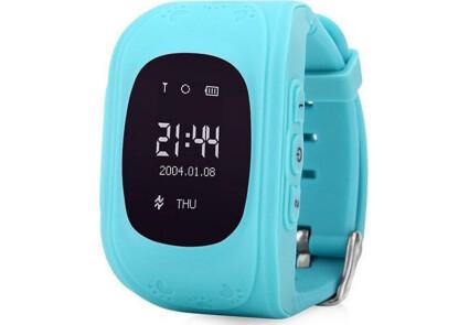 Smart часы детские с GPS Q50-1 Blue