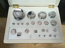 Набор калибровочных гирь Техноваги (1 мг - 500 г), класс точности F2, эталонные, фото 2