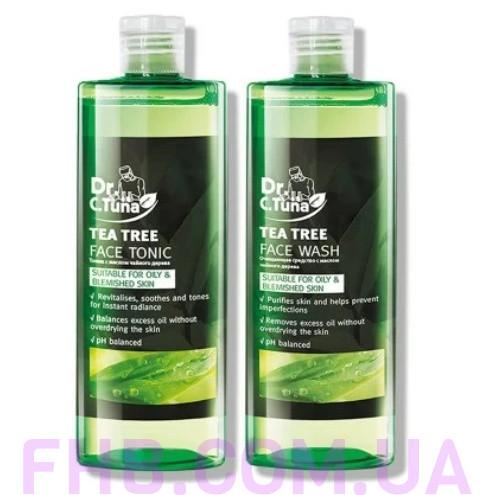 """Набір """"Догляд за обличчям з чайним деревом"""" Tea Tree Farmasi"""