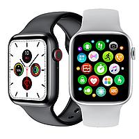 """Смарт-часы IWO W26 алюминиевый корпус, сапфировое стекло 2.5D, диагональ экрана 1.75"""", съемный ремешок"""