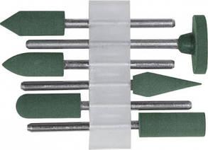 Насадки резиновые полировальные, мелкой зернистости P180, набор 6 шт. FIT IT 36923