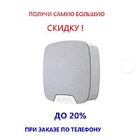 AJAX HOMESIREN / white / Бездротова вулична сирена / регулювання гучності (81-97 дБ)