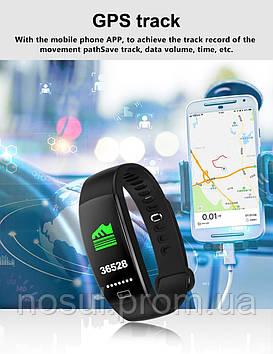 LUOKA F64HR (EM7028, MSA 301) 0.96 дисплей Bluetooth умный Браслет монитор сердечного ритма Браслет фитнес для