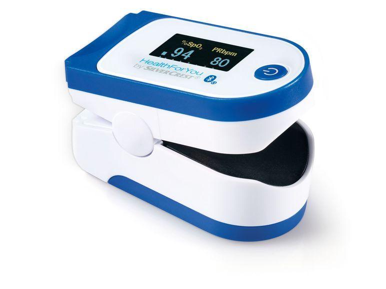 Пульсоксиметр SilverCrest SPO 55 с возможностью передачи данных на смартфон через Bluetooth, Германия