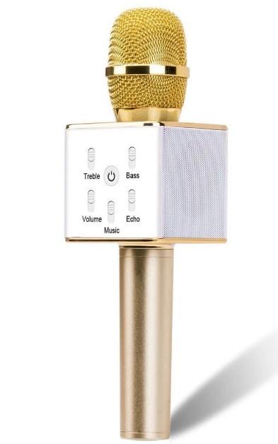 Караоке микрофон Q7 (Q7(Gold))