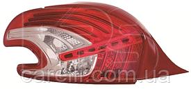 Фонарь задний левый (PY21W/R10W/P21W/LED) -2015 для Peugeot 208 2012-19