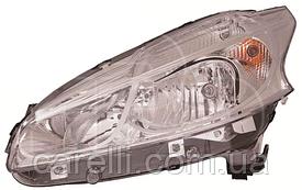 Фара правая электро Н7+Н7 -2015 для Peugeot 208 2012-19