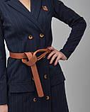 Платье-пиджак мини с ремнем. Турция, фото 3